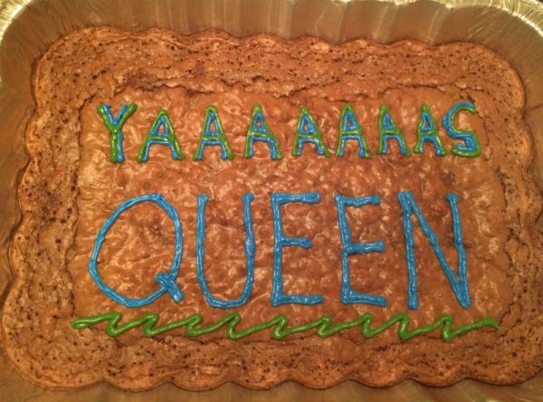 Yass Queen brownies