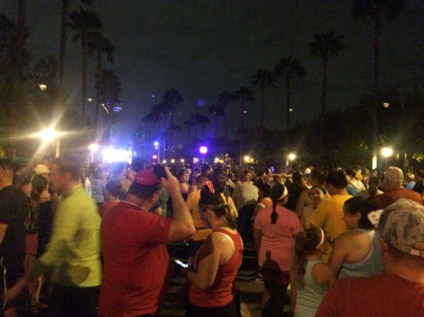 Disney Run 5k - Before Race