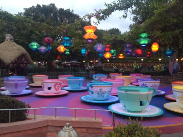 Disney Run - Teacups
