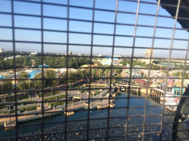 View from Mickey's Fun Wheel